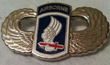 US Army 173rd  A/B wings pin!!