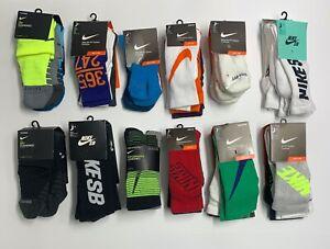 Nike Performance Dri-FIT Cotton Cushioned 3 Pack Quarter / Crew Socks Unisex
