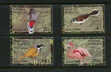 Haiti 1999 - Birds - Flamingo - Set of 4 Stamps - MNH