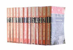The Second World War. 12  Volume Set. by Churchill, Winston S.