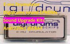 Emu E-Mu Drumulator Digidrums EPROM sound expansion kits