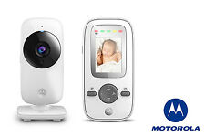 """Cámara de seguridad Motorola MBP481 digital video del bebé monitor inalámbrico 2"""" LCD PANTALLA"""