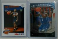 Zion Williamson ROOKIE Lot (2) Panini Prizm NBA Hoops RC Tribute mint super hot