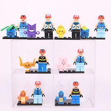 16PCS SET POKEMON GO Mini Figures PIKACHU POKEBALL Blocks Toys fits Lego