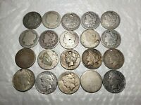 SILVER $ LOT ** 20 MORGANS+PEACE+EARLY DATES 1800'S+((ESTATE SALE)) INVEST!!