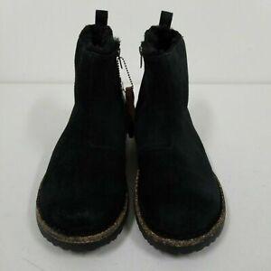 New w/o Box Birkenstock Melrose Shearling Black Boots Regular - Select Size