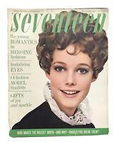 Vintage Seventeen Magazine December 1967 Fashion Ads Teenagers