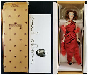 Ashton Drake Galleries Gene as Red Venus Doll w/ Shipper & COA Mel Odom Sign NEW