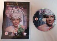 DVD - The Scarlet Empress DVD Marlene Dietrich Von Sternberg (DIR) PAL UK R2
