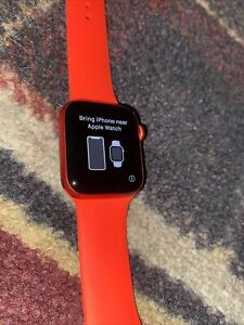 Apple Watch Series 6 (GPS,40mm)Red Aluminum Case - Red Bands - BRAND NEW-NO BOX