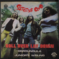 STATUS QUO: Roll Over Lay Down + 2 45 (Portugal, PS w/ light stamp oc, minor c