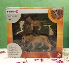Schleich Tiere 41404 Set Löwe Wild Life Brandneu