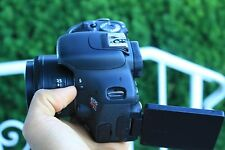Canon Rebel T3i / 600D 18.0 MP SLR With 50mm F/1.8 II Lens (2 LENSES)