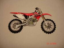 "HONDA PATCH, MOTOCROSS CRF 450R, EMBROIDERED 5"" PATCH"