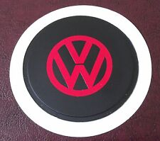 FITs VOLKSWAGEN TAX DISC HOLDER red TOURAN SCIROCCO TOUAREG LUPO GOLF RABBIT