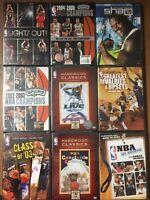 9 New NBA DVDs, Shaq, Spurs, Hardwood Classics, All Access, Comedy, Music Videos