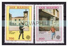 SAN MARINO 1990 -   EUROPA  CEPT   SERIE  NUOVA  **