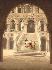 Fotografía de arquitectura Escalera Gigante Venecia Italia Cartel lv4835