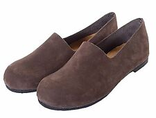 Womens Genuine Leather/Suede Flat Slip On Ladies Shoes. Size 7. New in box. USA