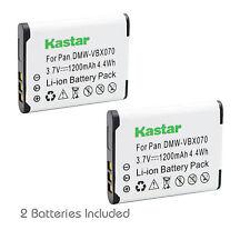 2x Kastar Battery for Pentax D-Li88 Optio H90 P70 P80 W90 WS80 TOSHIBA PX1686