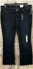 ANA jeans womens 16 boot cut new embroidered slim fit stretch B4