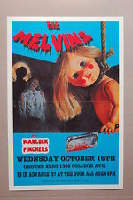 The Melvins Concert Tour Poster 1991 Boulder Colorado