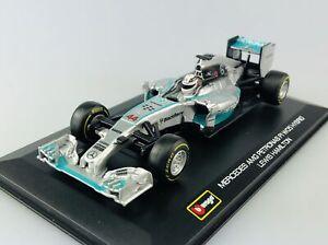 BBURAGO RACE F1 MERCEDES AMG PETRONAS W05 #44 LEWIS HAMILTON 1:32 NEW FORMULA