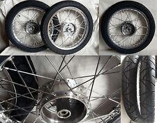 2x Rad Reifen Räder Alufelge pas f Simson S51 S50 KR51 Schwalbe S53 70 Satz K55