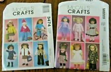 "McCall's #M6005 Uncut Doll Clothes Sewing Pattern for 18"" Doll"
