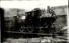 8CC650 RP 1910s?/40s? NYO&W ONTARIO & WESTERN RAILROAD 4-4-0 CAMELBACK LOCO #11