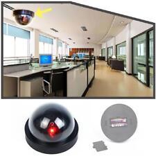 Maniquí falso vigilancia seguridad domo cámara intermitente luz LED rojo casa BF