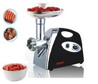 Electric Meat Heavy Duty Mincer Grinder Sausage Kibbe Maker Filler Mix Black