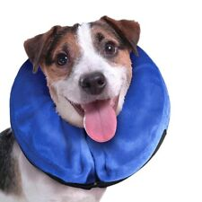 S Inflatable Collar Dog Cat Soft E-Collar Pet Puppy Medical Protection Head Cone