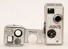 Pentacon ak8 #065491 con Carl Zeiss Jena Triotar 1q 2,8/10mm #4970281 con abefot