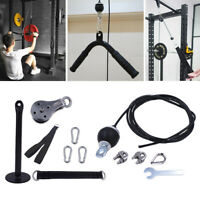 Pulley Cable Machine System Fitness Attachment Home Gym Loading Pin Cables Strap