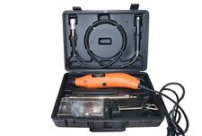 ROTARY TOOL SET + 40PC BIT SET + BENCH CLAMP + 1.08M FLEXIBLE EXTENSION