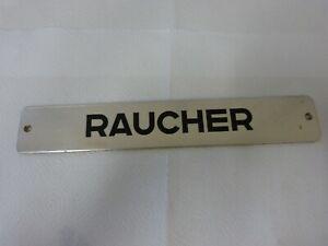 """Schild """" Raucher  """"         70/191"""