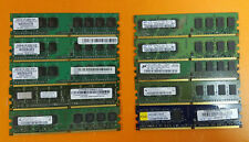 ⭐️⭐️⭐️⭐️⭐️ Lot of 10 1GB DDR2 PC2-6400 800 RAM Desktop RAM Memory Cards