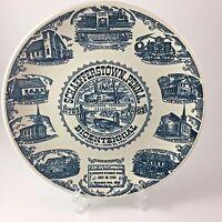 Vintage Schaefferstown Penn Bicentennial Commemorative Plate 1963