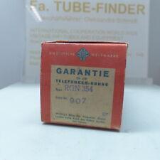 1x  Telefunken RGN354 KL73301 = 1802 tube Röhre Valvola in Sealed Box NEW 01