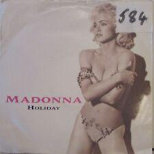 "MADONNA - Holiday ~ 7"" Single PS"