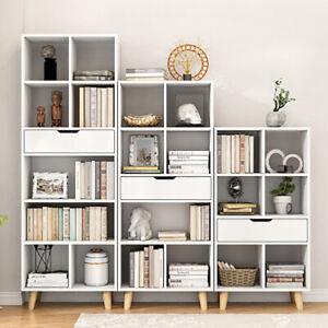 Multi Cubes Bookcase Bookshelf Storage Unit Shelving Display Cabinet Home Decor