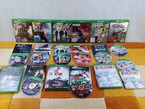 9x Spiele Spielesammlung Xbox One USK18 The Evil With 1+2 + Ryse + Battlefied...
