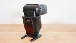 Canon Speedlite 580EX II Shoe Mount Flash From Japan F/S