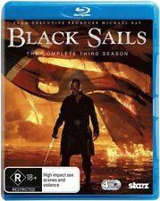 BLACK SAILS : COMPLETE SEASON 3  -  Blu Ray - Sealed Region B