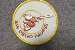 "Vintage San Diego Padres 3"" Baseball Patch"