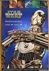 1997 STAR WARS Magic Of Myth Smithsonian Museum POSTER Original C-3PO VF