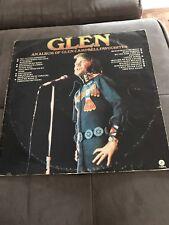 "GLEN CAMPBELL FAVOURITES - Vinyl Album 1974 - 33rpm/12"" - Cheap"