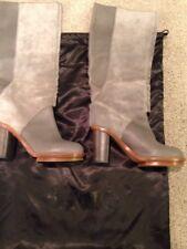 Acne Studios Grey Womens Boots