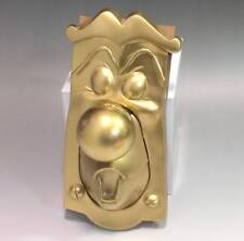 Disney Alice in Wonderland Gold Door knob by Creator With key Hand mad FS